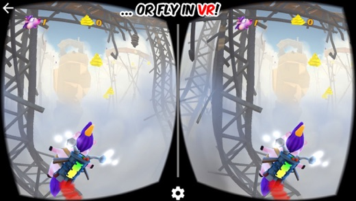Clumsycorn: Epic Unipig Sky Runner Screenshot