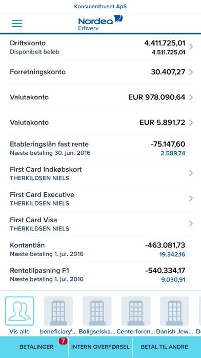 nordea dk nye vilkår