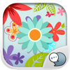 Flower Emoji Stickers Keyboard Themes ChatStick
