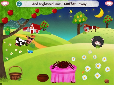 Little Miss Muffet HD screenshot 4