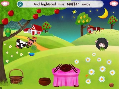 Little Miss Muffet HD screenshot 4