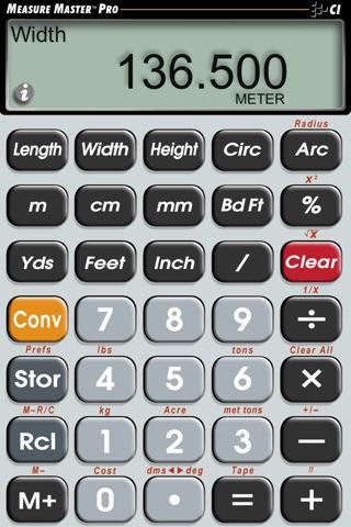 Measure Master Pro Feet Inch Fraction Calculator screenshot 2
