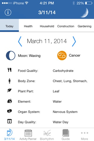 The Lunar Calendar screenshot 1