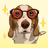 Dog with Text Stickers : New Wiki