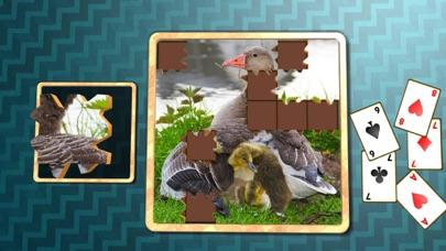 Jigsaw Solitaire Baby Animals screenshot 4