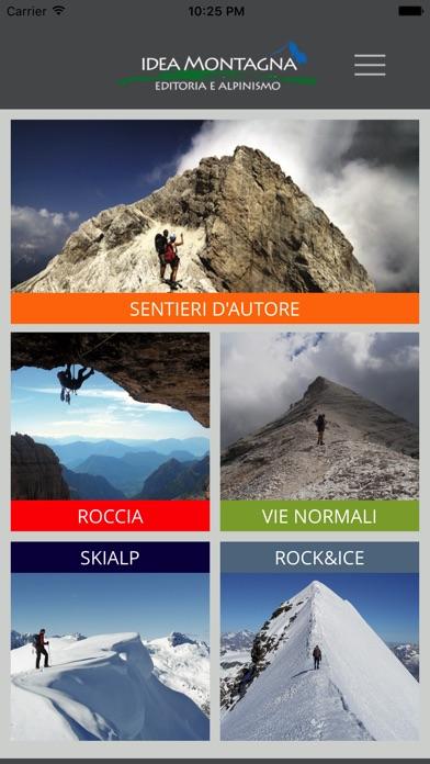 Screenshot of Idea Montagna - Editoria e Alpinismo1