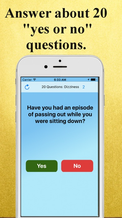 download 20 Questions: Dizziness apps 2