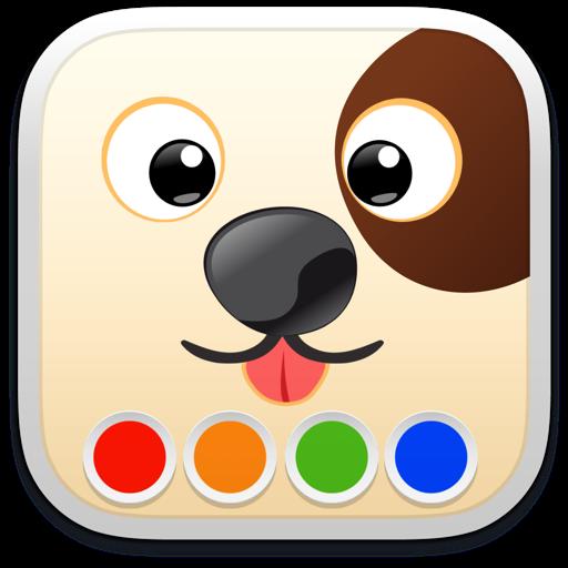 Раскраска - Собаки