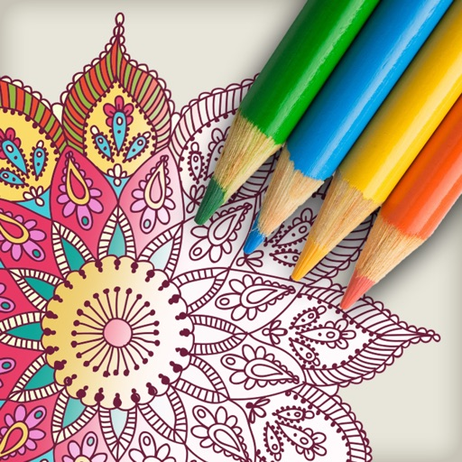 Best Premium Advanced Coloring Book for Grown-Ups iOS App