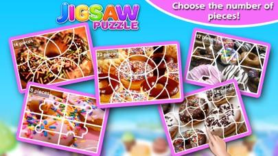 Screenshot #5 for Sweet Donuts Jigsaw Puzzle - Sweet Logic Game