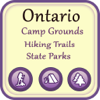 Ontario Camping & Hiking Trails,State Parks