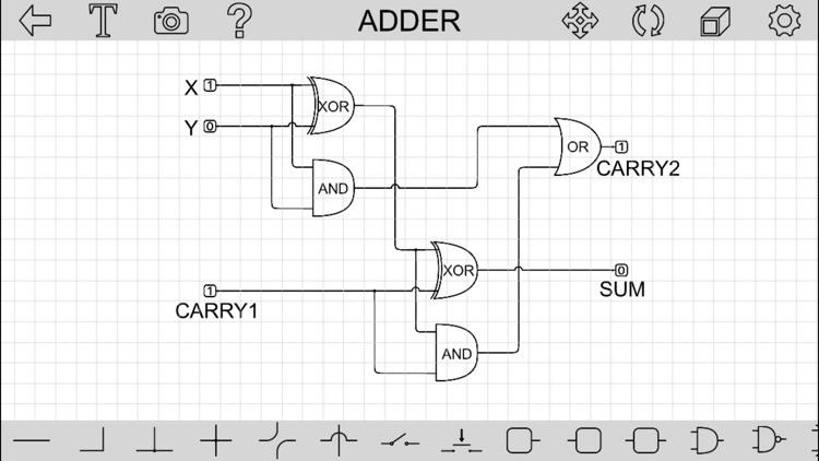 Logic Gates (Logic Circuit Helper) by Zehui Yao