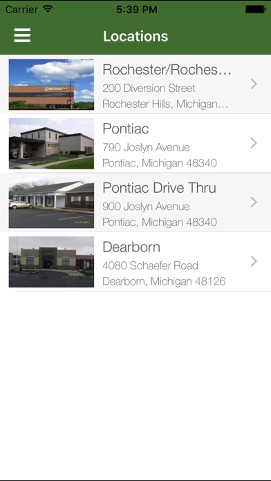 Chief financial credit union on the app store for Motor city credit union locations