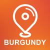 Burgundy, France - Offline Car GPS App