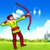 A Fantasy Bow and Arrow