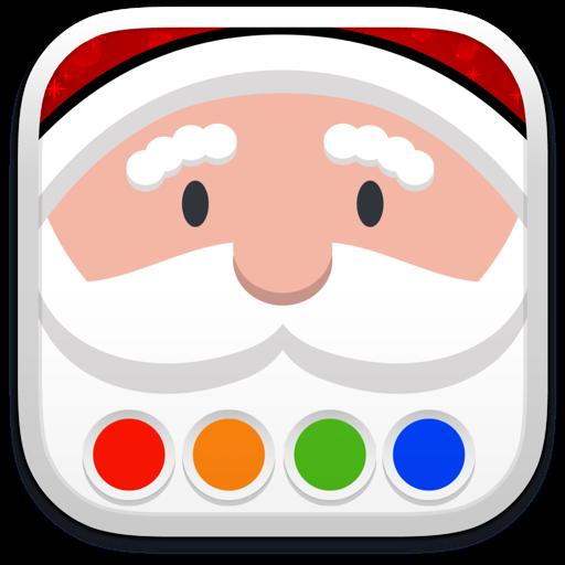 Раскраска - Санта Клаус