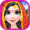 Indian Girl Makeup Salon - Juego de Salón para Niñ