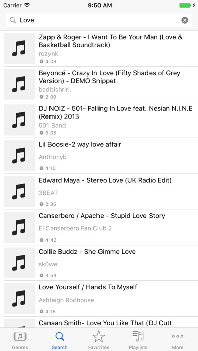 Screenshots of Free Music S - MP3 Player & Playlist & Album for iPhone