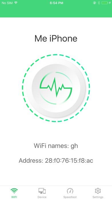 WIFI Analyzer pro- Netzwerk Geschwindigkeitstest Screenshot