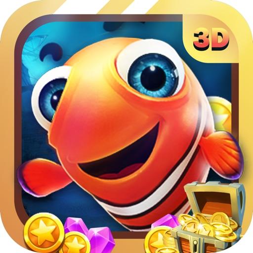 Vui Bắn Cá 3D - iCá Ăn Xu, Fishing Joy 3D iOS App