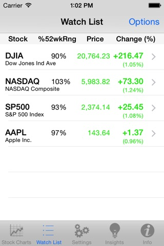Stock TickerPicker screenshot 2