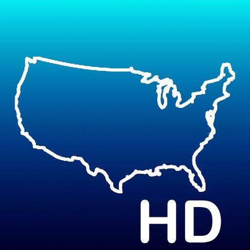 Aqua Map USA HD - GPS Offline Nautical Charts App Ranking & Review