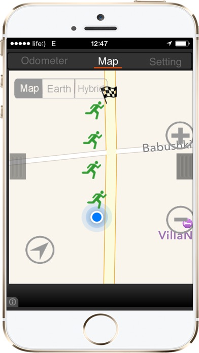 download GPS Pedometer Calorie Counter walking running apps 1