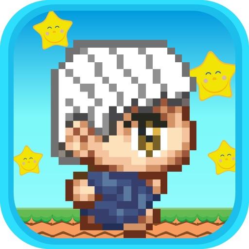 Super Island Pixel Jump iOS App