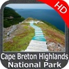 Cape Breton Highlands NP HD GPS charts Navigator