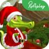 Funny Baby Crocodile: Cranky Swampy