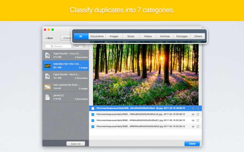 DuplicateFinder - Find and Remove Duplicates Screenshots