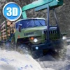 Winter Timber Truck Simulator Full