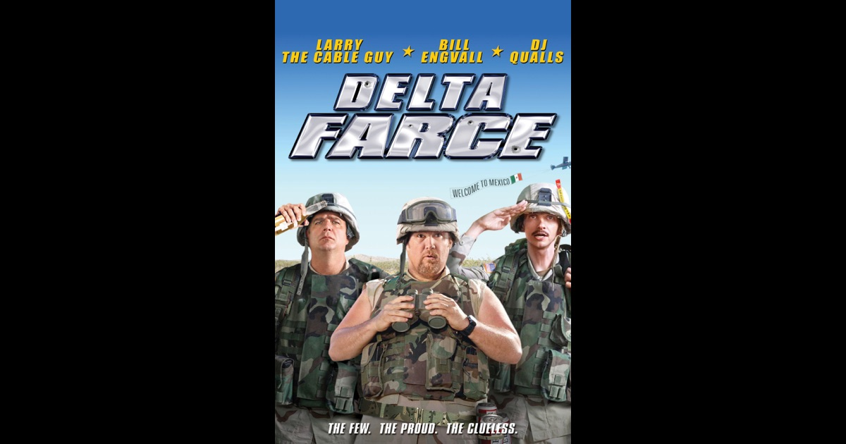Delta farce on itunes for Farcical movies