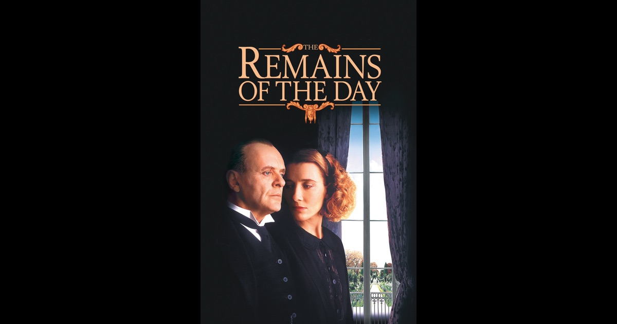 The Remains Of The Day On Itunes