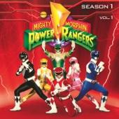 Mighty Morphin Power Rangers, Season 1, Vol. 1 - Mighty Morphin Power Rangers Cover Art