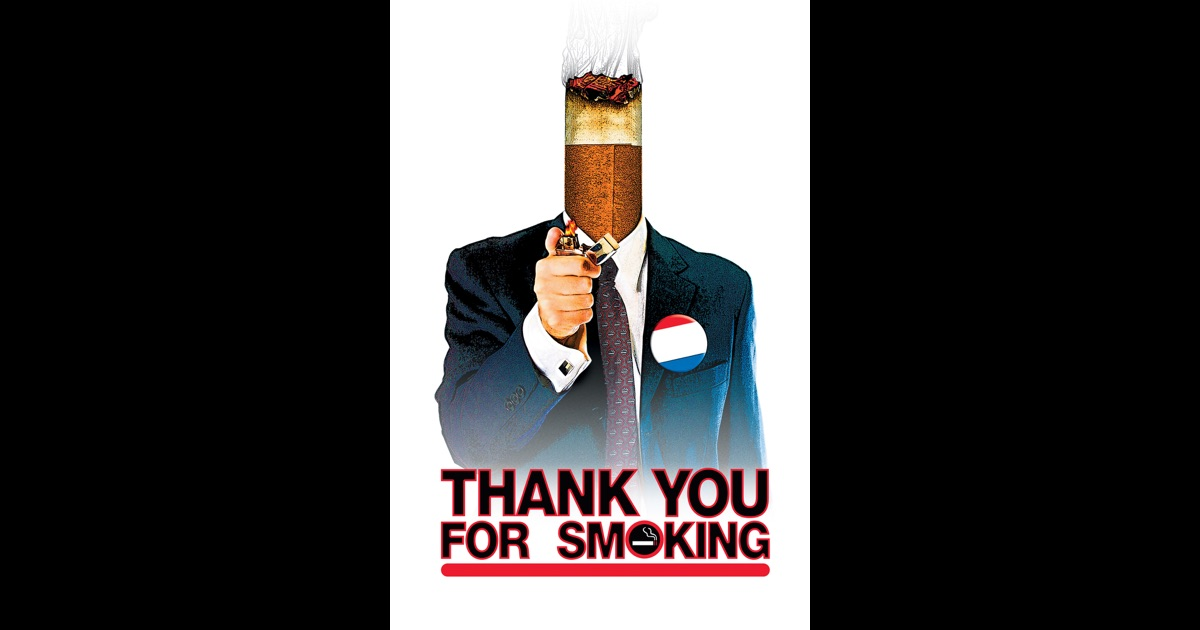 thank you for smoking and negotiations Nick naylor, a tobacco lobbyist from thank-you for smoking  he is a  confident and assured person who walks a big walk and talks an ever bigger.