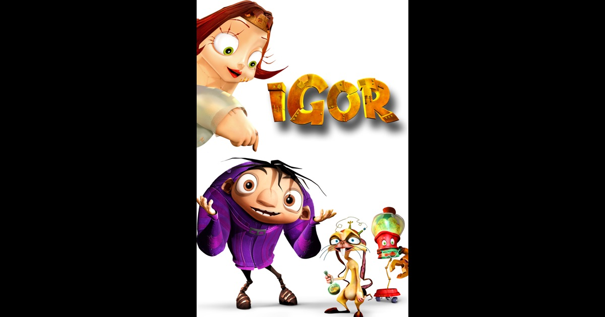 Igor 2008 on itunes for Igor movie watch online