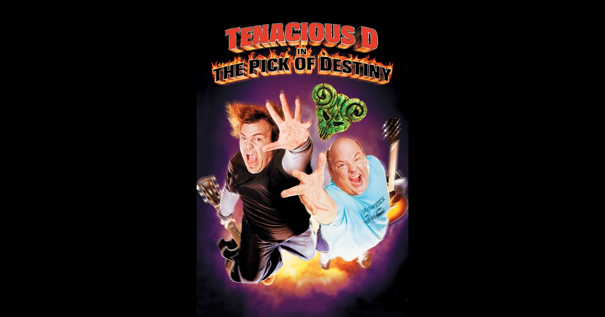 Tenacious D In the Pick of Destiny on iTunes Tenacious D Pick Of Destiny Poster